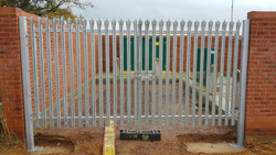 Palisade Wet Well Gates - Anglian Water
