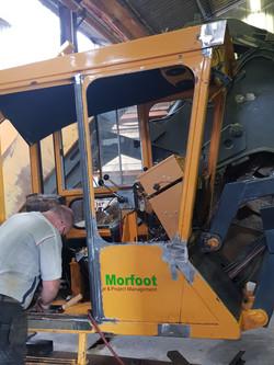 Trencher Cab Repair