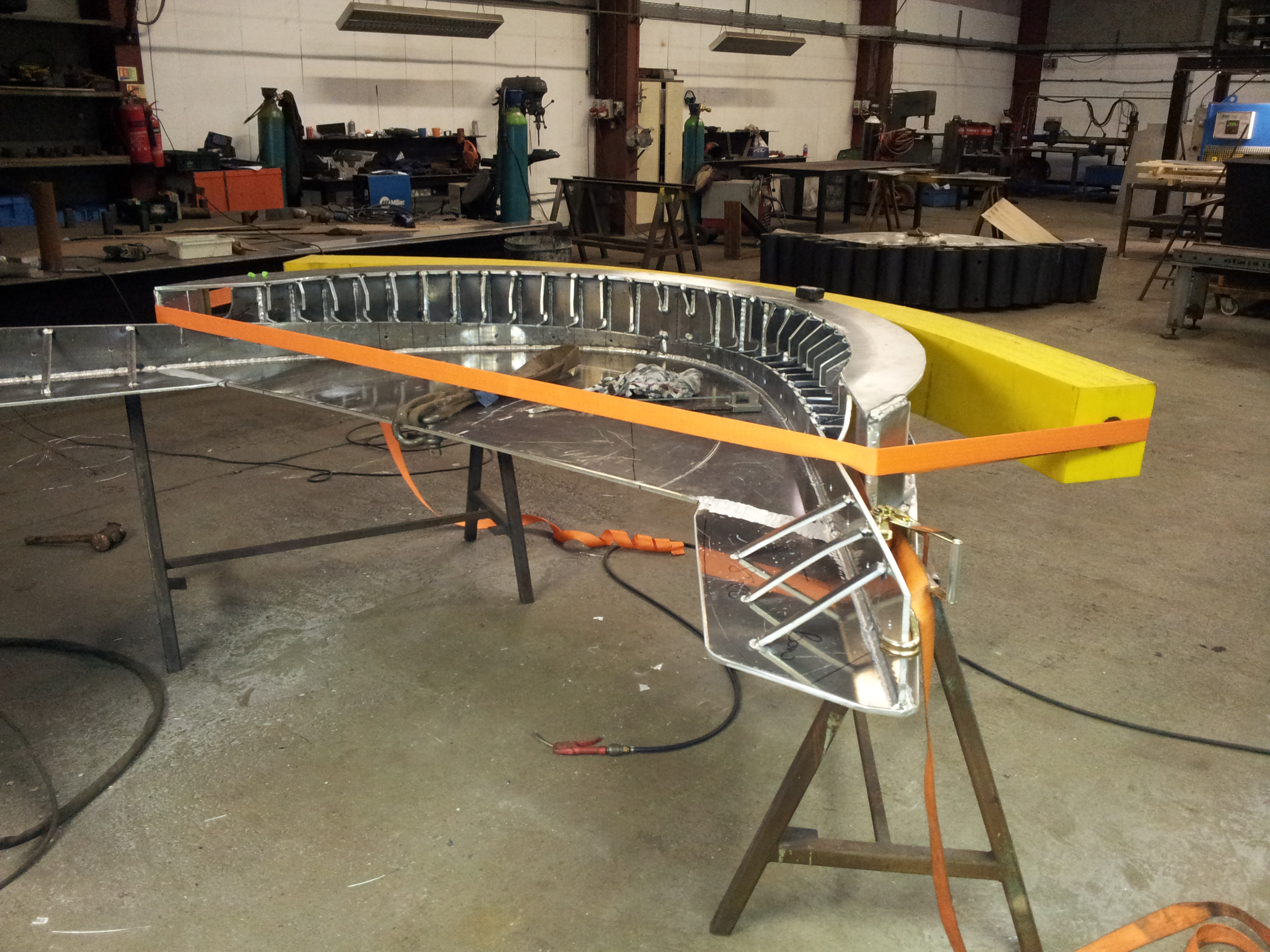 Bow Fender Fabrication