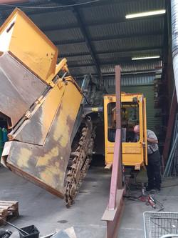 Trencher Cab Repair1