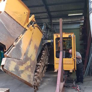 Trencher Repair