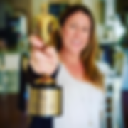 Rachel with Telly Award.png