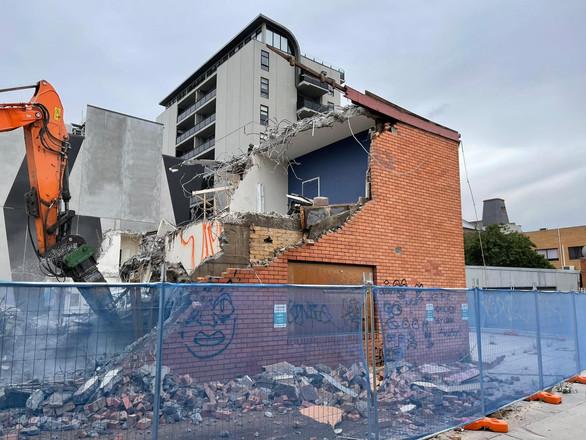 Paisley St Footscray Demolition