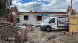Demolition Team on a partial demolition site