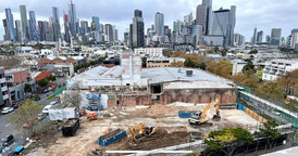 Melbourne Demolition Site