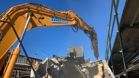 Melway Demolition excavator arm extension