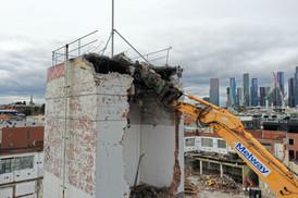Melway Demolishing Brick Tower