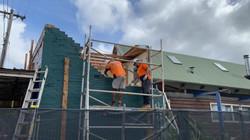 Shop Demolition Progress