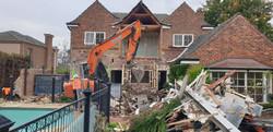 Double Storey Brick House Demolition