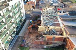 Brick Building Demolition