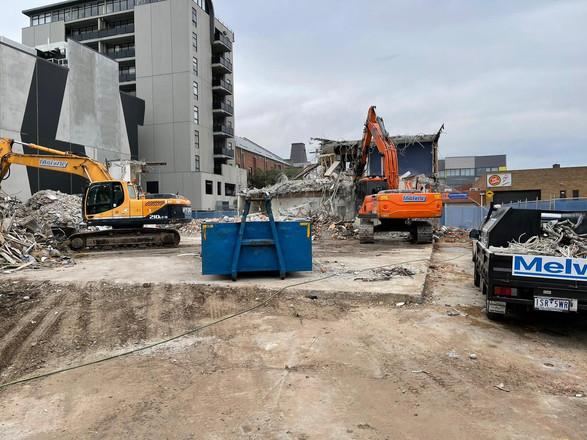 Demolition Progress Footscray