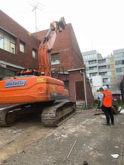 Building Demolition with Demolition Supervisor
