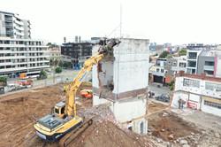 Brick Tower Demolition