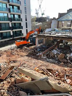 Commercial Demolition Progress Works