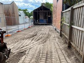 Tight partial demolition