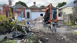 Partial Demolition Progress