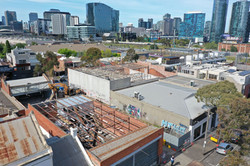 Commercial Demolition With City View