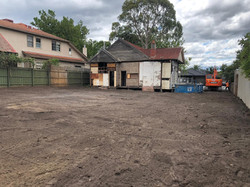 Completed Partial Demolition