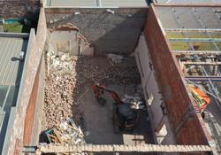 Commercial Demolition Site West Melbourne