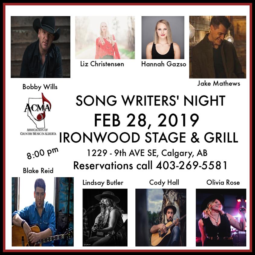 ACMA Song Writers Night