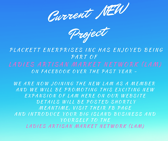New Current Projects Announcement LAM  (