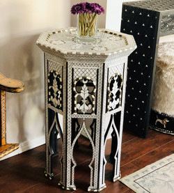 Mother of pearl inlay Syrian table