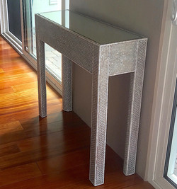 Syrian modern mother of pearl table