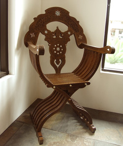 Moroccan style folding chair