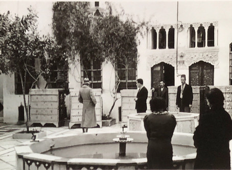 Doris Duke visit to Damascus Syria 1938