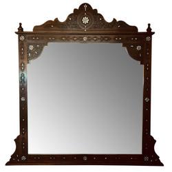 Hand carved Moorish style mirror