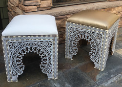 Mother of pearl Stools