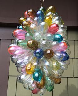 Rainbow Glass Lighting Fixture