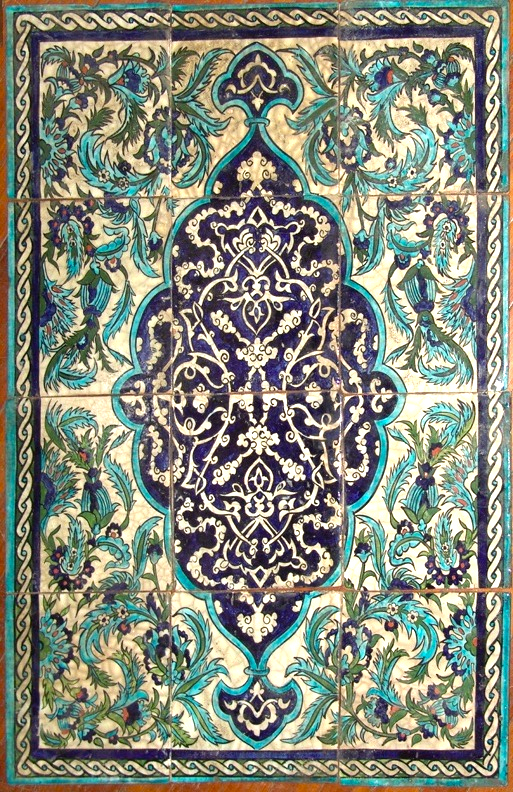 Damascene Tiles
