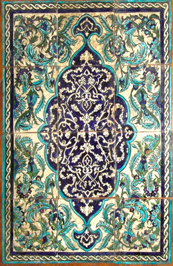 Damascene Tiles
