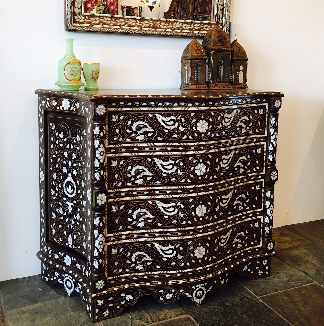 Moroccan style chest
