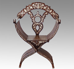 Mother of Pearl Folding Chair