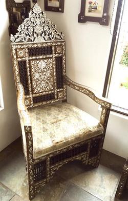 Antique Syrian chair