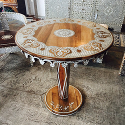Syrian contemporary entry table
