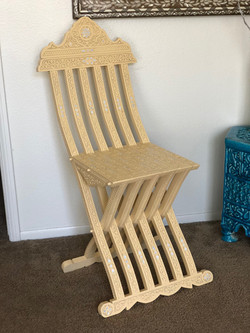 Moroccan style chair