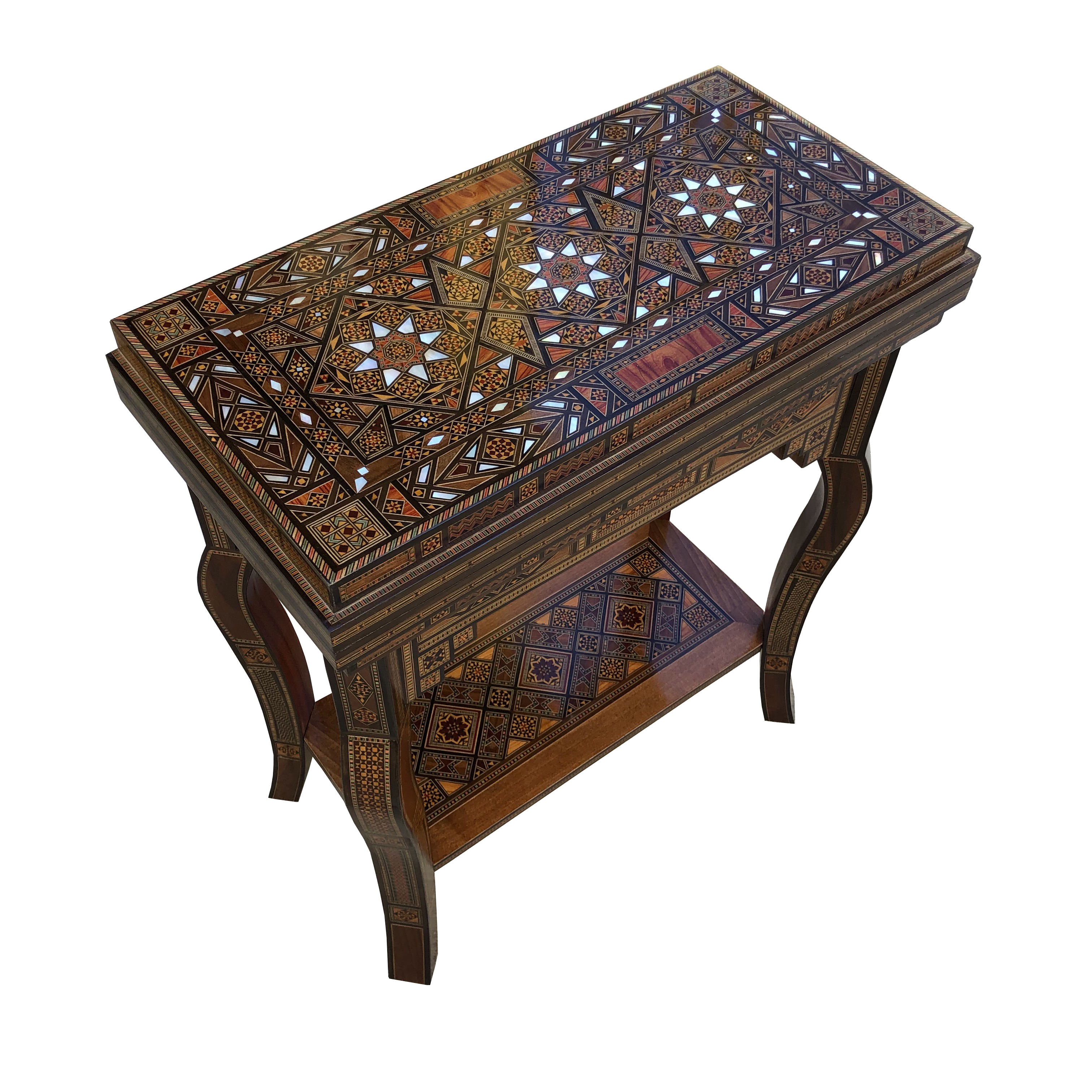 Folding Syrian game table