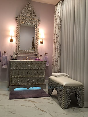 We Are Hy To Work With You Create Beautiful Bathroom Vanity In Any Size Your Need Palm Desert Project