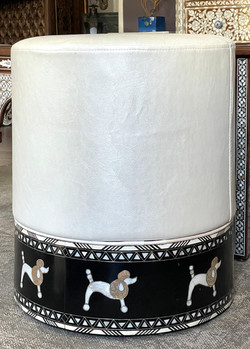 Syrian mother of pearl stool