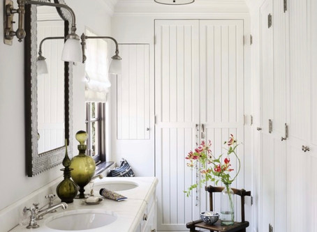 Super Model Alessandra Ambrosio's master bath