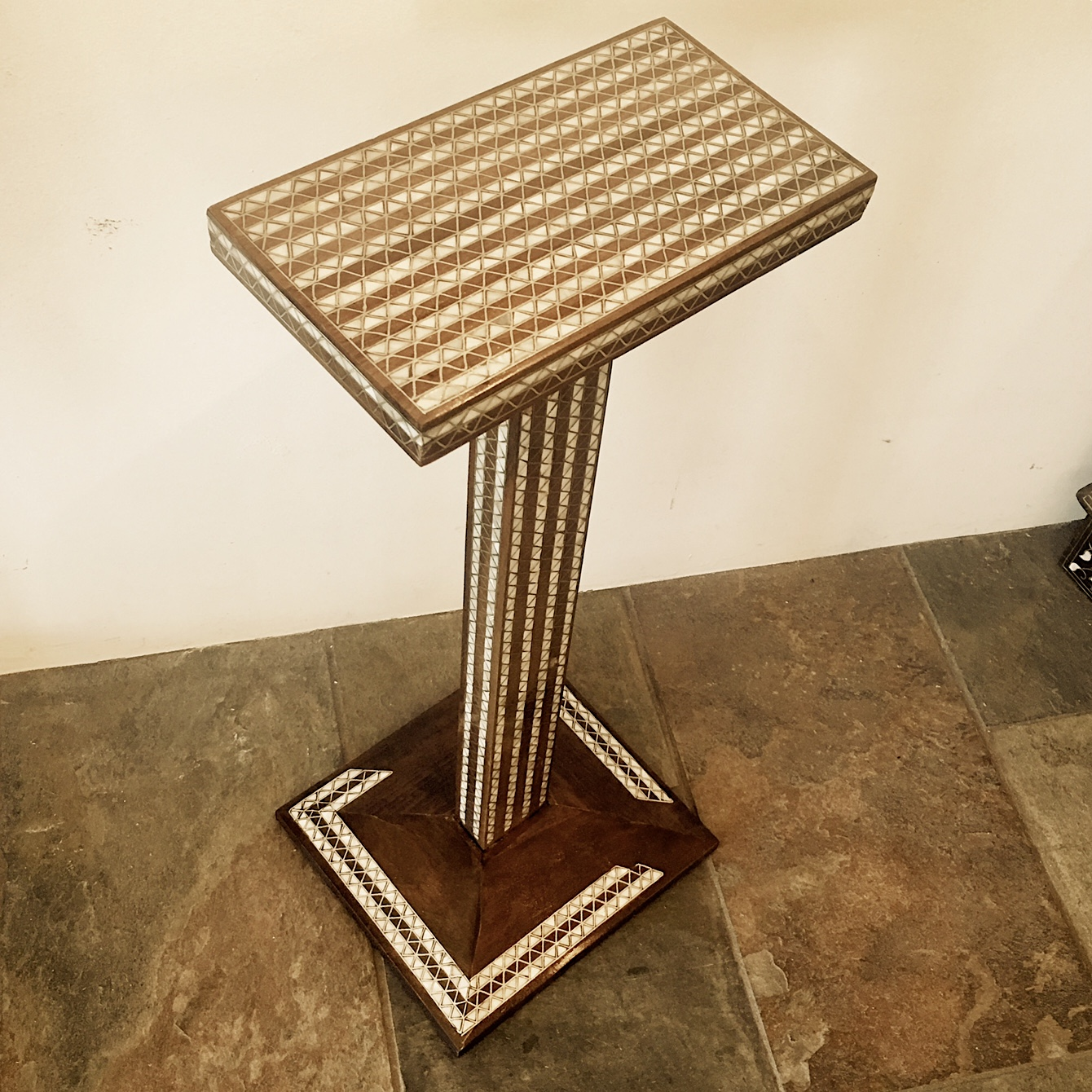 Syrian contemporary side table