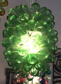 Green Lighting Fixture