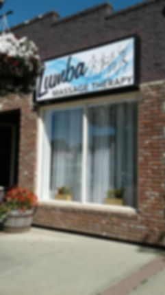 The beautiful Lumba Massage Therapy in the heart of Stony Plain.