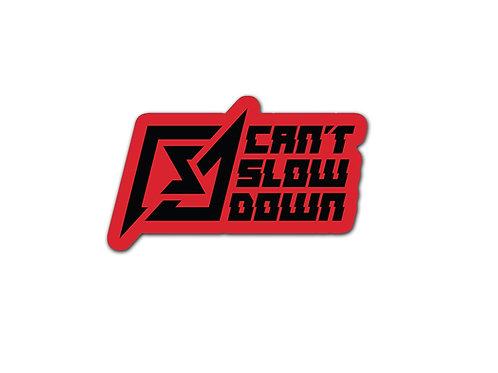 Red CSD Sticker
