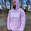 Thumbnail: Lilac Side Logo Hoodie