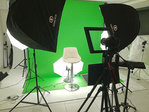 aluguel e locação de estúdio de video e filmagem com chormakey chorma key no rio de janeiro rj