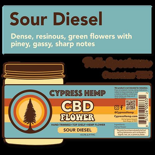 Sour Diesel CBD Hemp Flower
